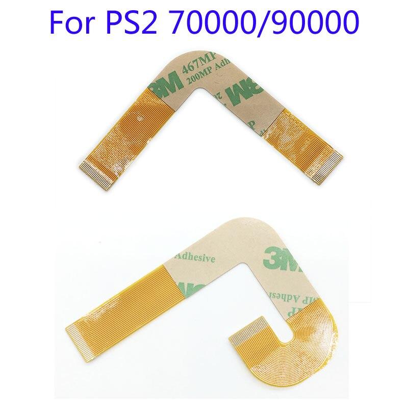 120 pces para ps2/playstation 2 lente do laser 70000x flex flexível cabo de fita plana conexão da lente do laser 9000x90000 9 xxxx
