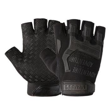 1 para biegów wojskowe Fingerless Hard Knuckle rękawice taktyczne mężczyźni pół palca dla armii Sport jazdy strzelanie jazda motocykl tanie i dobre opinie ZAIQING Dla dorosłych Wiskoza NYLON Patchwork Nadgarstek Rękawiczki Moda DB62 fingerless gloves gloves without fingers