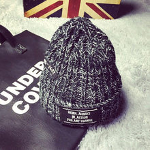 Женские и мужские шапки, женские шапки, зимние вязаные шерстяные шапочки, утолщенные теплые шапки для женщин и мужчин, повседневная шапка унисекс Skullies Chapeau El