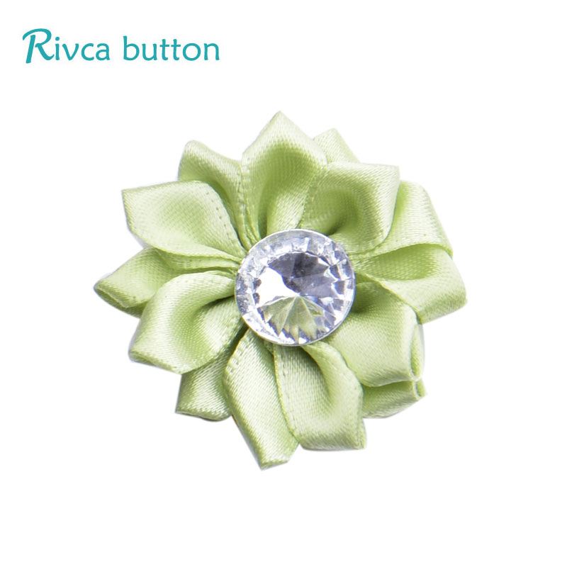 D03471 rivca кнопки изделия Роза для Для женщин для девочек новое поступление DIY Hat серьги высокое качество шарма кожа