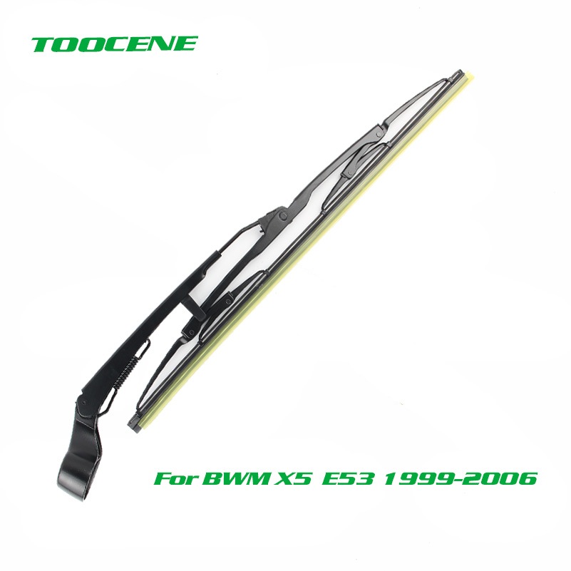 Rear Wiper Blades and Arm For BMW <font><b>X5</b></font> <font><b>E53</b></font> 1999-<font><b>2006</b></font> Windshield Wiper Auto Windscreen Car Accessories image