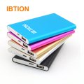 IBTION Ultra Slim Universal Mobile Power Bank Polymer Power Bank for iPhone 4/4S 5/5S/5C 6 6S 6S Plus 7 7 Plus and Others