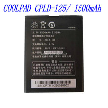 100% New high quality 1500mAh  CPLD-125 Battery for Coolpad 8017-T00 8071 mobile phone free Shipping+Tracking Code