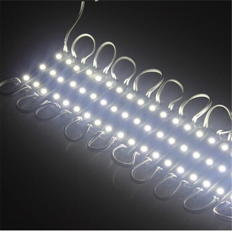 200pcs/lot free shipping by DHL 5050 3 led module ,20lm/led IP65 led billboard light,led backlight White LPM-3*5050-IP65-W
