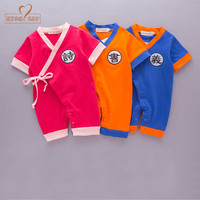 Nyan Cat Baby Boy Girl Romper Summer Infant Short Sleeves Toddler Jumpsuits Newborn Baby Chinese Character