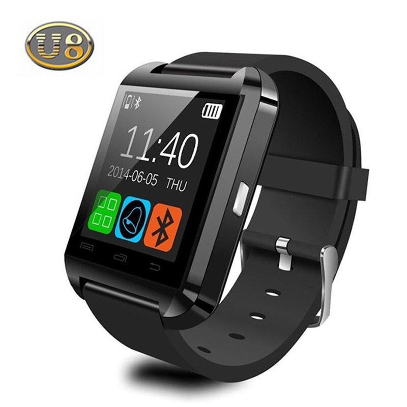100 Original Bluetooth Smart Watch U8 font b Smartwatch b font U Watch For iOS iPhone