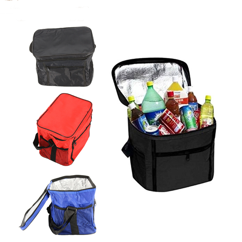 Canvas 420D Square Waterprool Insulation Bags Thermal Bag Baby Feeding Food Water Storage Bag For Outdoor Travel