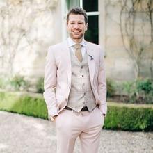 3c8a0318113641 Galeria de light pink blazer men por Atacado - Compre Lotes de light ...