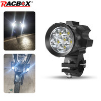 Motorcycle Headlights Bulb led moto spotlight 12 24V fog waterproof long lifetime for ATV scooter snowmobile Universal light DRL