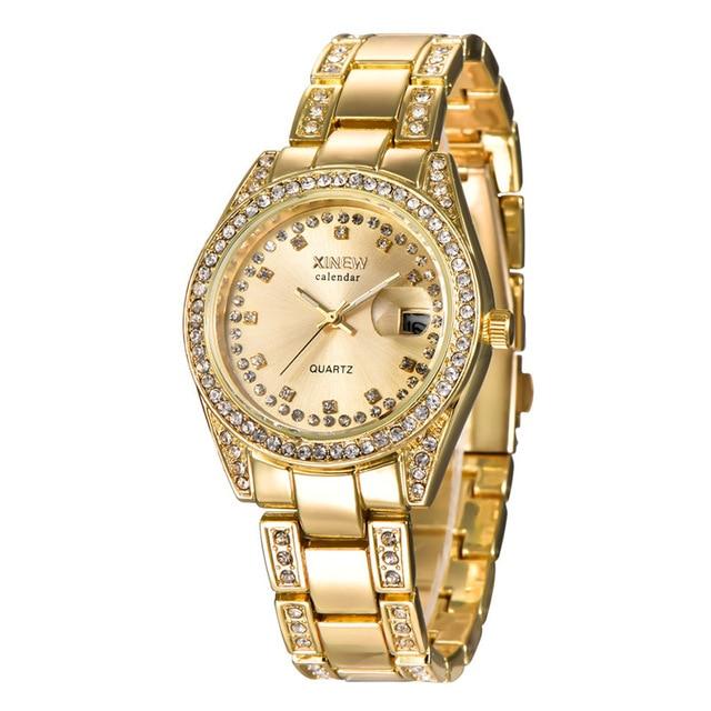 Luxury Women Watches Quartz Crystal Stainless Steel Elegant Wild WristWatches 2019 Ladies Accessories relogios reloj mujer Clock   Fotoflaco.net