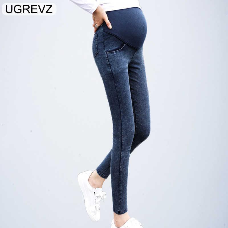 4541aeadb668 Для беременных джинсы для беременных Беременность весна осень джинсовые  штаны Одежда для беременных женщин летние кормящих