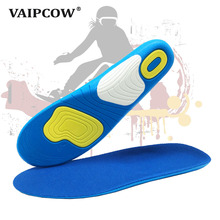 Silicone sport shoes pad comfortable gel insoles men massage sole women orthotic sports