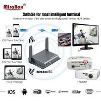 Новый продукт автомобильный беспроводной mirrorling коробка дисплея полезные встроенный навигации и видео YouTube, беспроводной передачи HDMI сигна