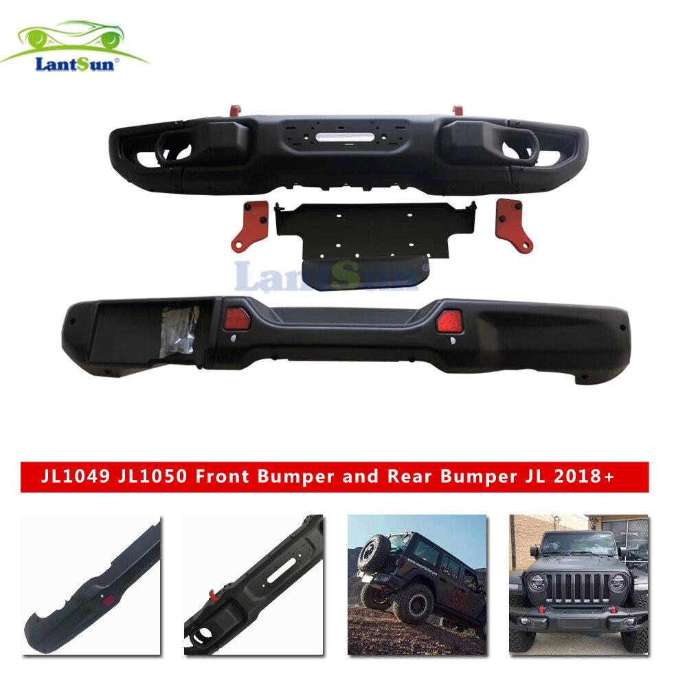 Latest dianteiro e traseiro bar para Wrangler JL o original estilo amortecedor traseiro com câmera do furo 2018 + para auto acessórios para o produto