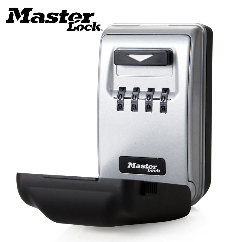 Key Safe Box Combination Light Up Dial Wall Mount Lock Box Password Lock Outdoor Storagebox Home Office Company Security Safes