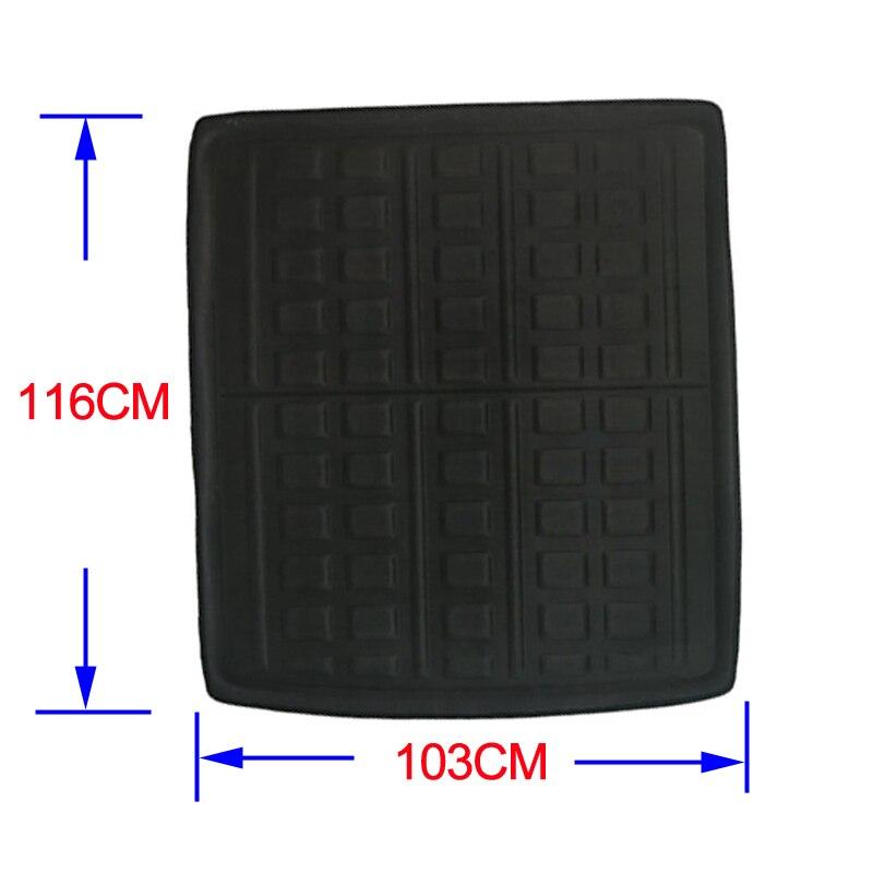 Image 2 - Car Rear Trunk Mat Cargo Tray Boot Liner Carpet Protector Floor For VW Passat B8 (3G5) Estate & Variant & Alltrack/GTE 2014 2019