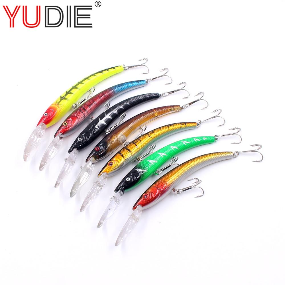 1Pcs Swinging Crank Bait Deep Water Minnow 16cm 16.8g 10 Colors swim Hard bait Artificial Bait Fish Tool Allure Wobblers Spinner