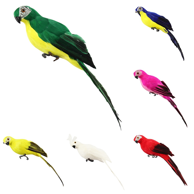 HTB1Kng9aU rK1Rjy0Fcq6zEvVXas - Simulated Parrot For Show Window Easy To Stand No Lint