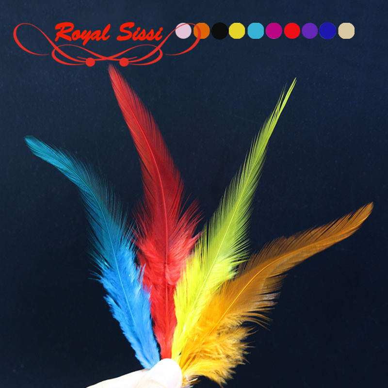 10 colors Fly Fishing rooster neck hackle for nymphal streamer&dry flies tying material lure/hybrid colors sellar hackle feather скальп петуха wapsi dry fly rooster neck grade 2