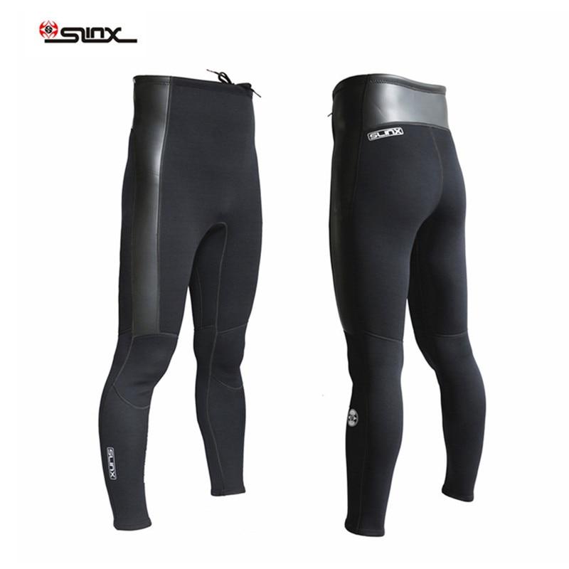 SLINX 2mm Neoprene Swimwear Surfing Scuba Diving Trousers Wetsuit Windsurfing Fishing Snorkeling Winter swimming Warm Pants цена 2017