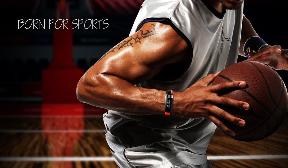 HUINIU Sport Smart Band Waterproof Bluetooth Bracelet Activity Tracker Heart Rate Monitor Smartband Message Reminder Wristbands 15