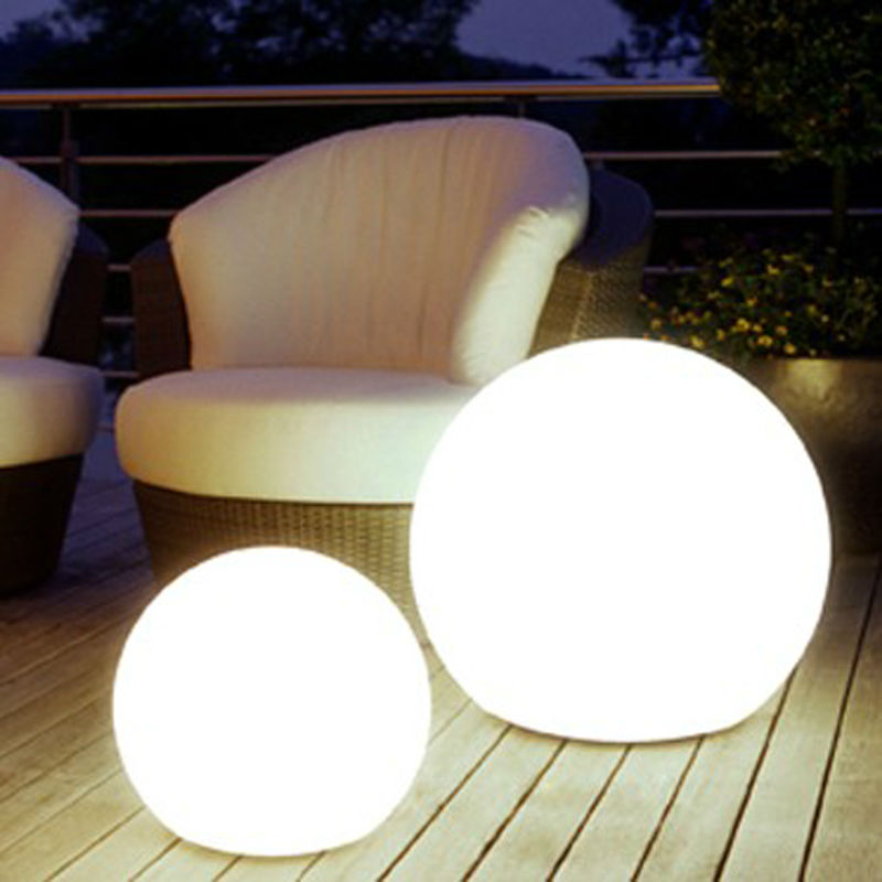 Outdoor lighting balls Rockery Wireless Operated Atmosphere Led Light Ball Colorful Globe Led Ball Bed Lamp Remote Rechargable Night Light Control Tactacco Wireless Operated Atmosphere Led Light Ball Colorful Globe Led Ball