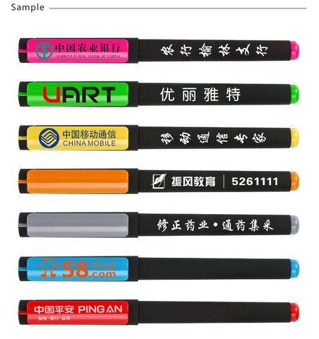 canetas de gel