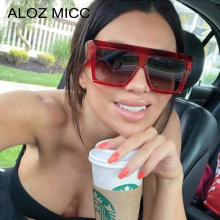 ALOZ MICC Oversized Women Sunglasses 2019 Vintage Acetate Frame Square Sun Glasses Female UV400 Q653