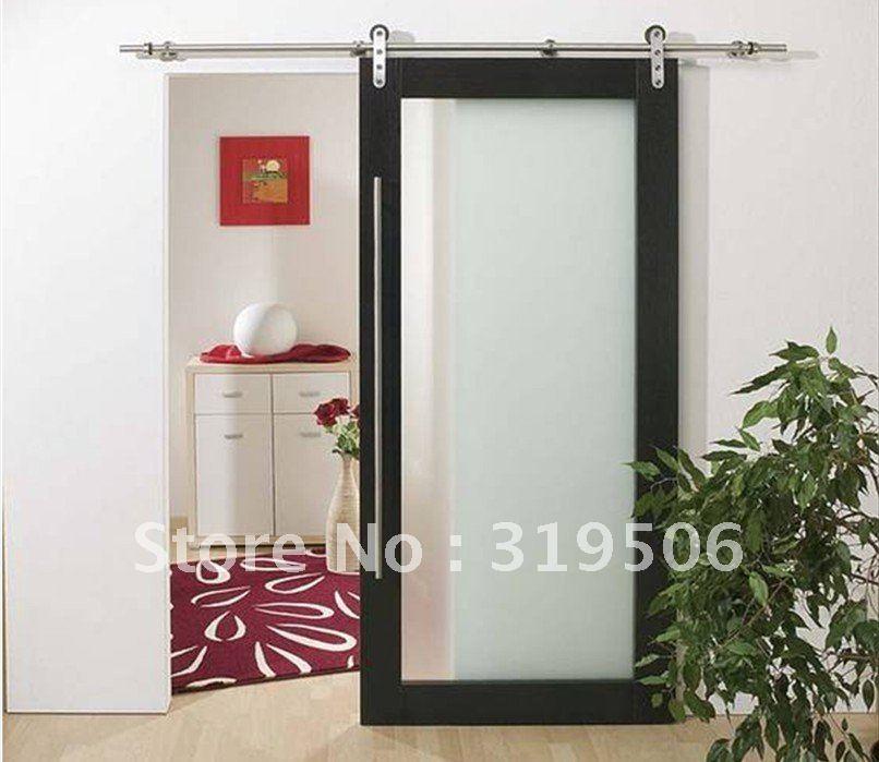 Elegant Stainless Steel Barn Door Hardware With Free