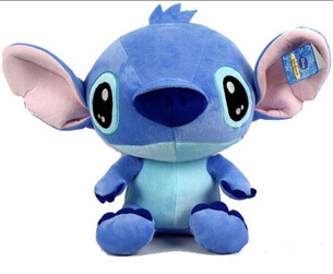New Arrival Cartoon Lilo and Stitch Plush Toys Doll Stuffed Toys Brinquedos Factory Price 2015 new arrival big clock plush toys baby toys hand toys cartoon toys wj191