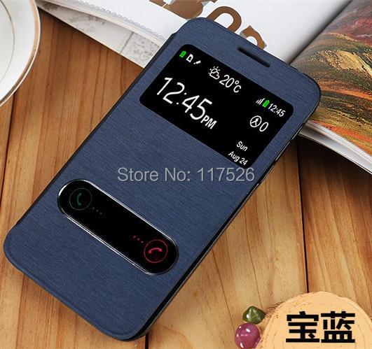Flip Case For Motorola Moto G XT1032 XT1028 XT1031 XT1033 Slim View Window PU Leather Smart Back Cover Battery Housing Cases