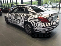 Car Styling Black White Camo Vinyl Wrap Car Motorcycle Decal DIY Styling Camouflage Sticker Film Sheet Air Bubble