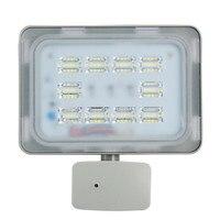 50 W Światła LED Flood PIR IP67 220 V LM SMD2385 Lampa Czujnik Podczerwieni Czujnik Ruchu PIR Reflektor Oświetlenie Zewnętrzne