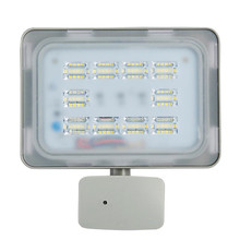 50W PIR LED Flood Light IP67 220V 6000LM Motion Sensor Lamp Infrared FloodLight  SMD2385 Outdoor Lighting