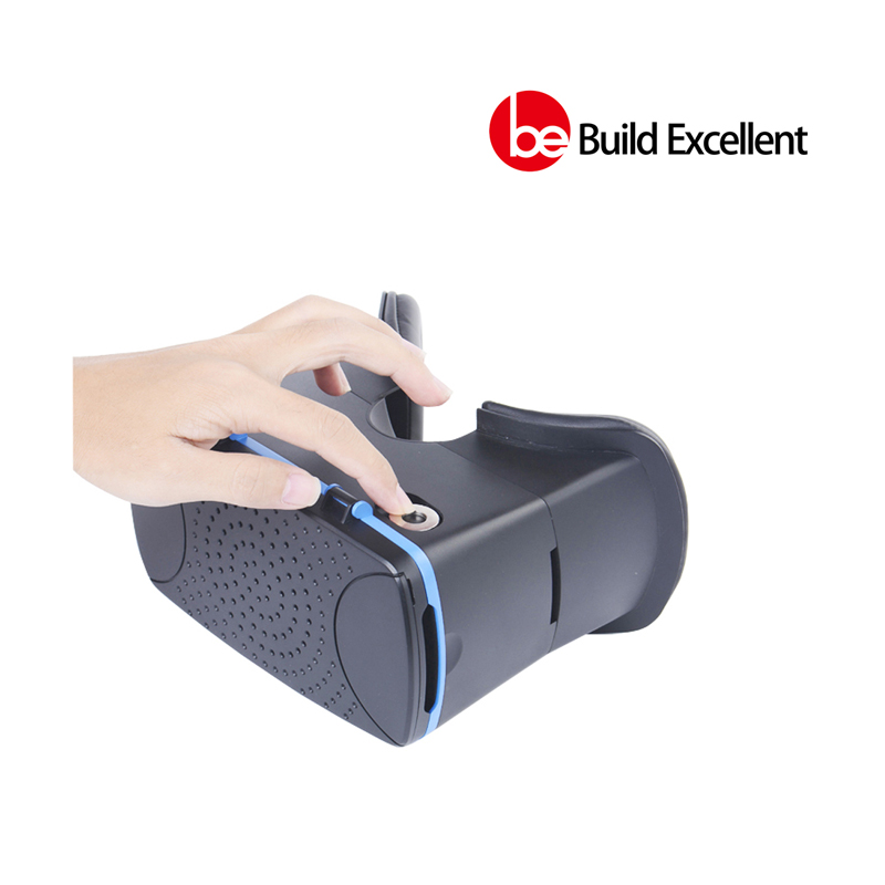 2016 new Virtual Reality Headset 3D font b VR b font Box with Magnet Trigger Pupil