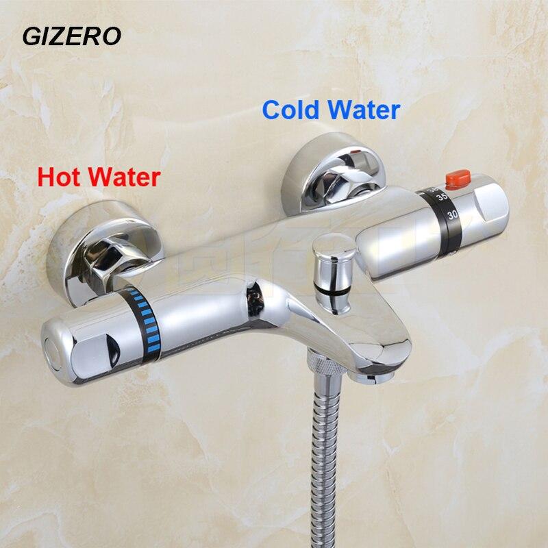 G1/2 thermostatique robinet de douche salle de bain de haute qualité thermostat de douche mitigeur température de l'eau de contrôle grue ZR955