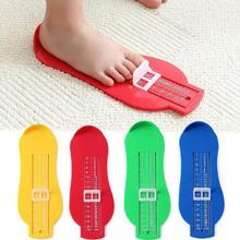 Детские сувениры стопы размер обуви измерительный прибор измерительная линейка Новинка Обучающие игрушки для малышей сортеры для детей пирамидка детская развивающие игрушки для детей отпечаток руки и ноги ребенок