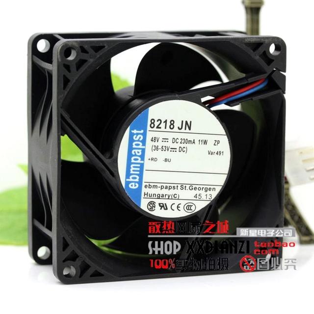 Original 8218 JN 8038 230mA 48 V 11 W 48 V ventilador de refrigeração