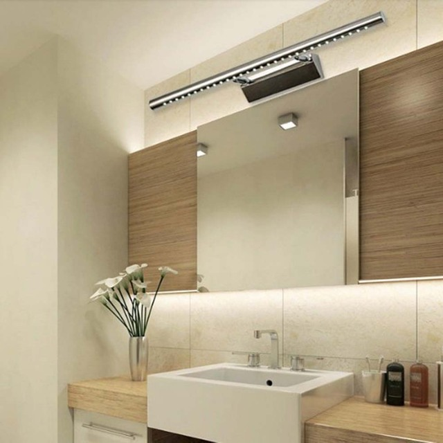 7w Led Wall Light Lamps For Home Modern Bathroom Cool White