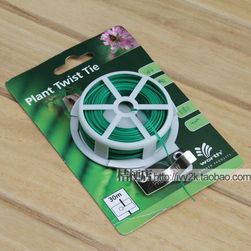 Plant Twist Tie( 1 Packet 30M ) * gardening supplies plastic coated ...