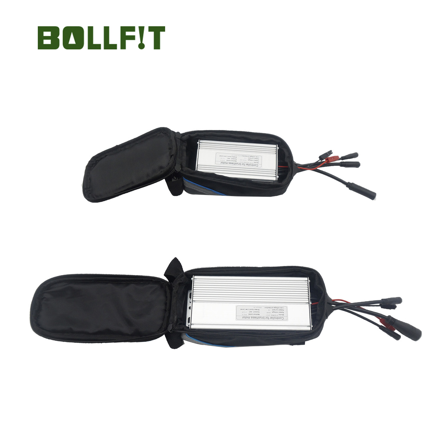 Bollfit Controller 14A 22A 35A Box Ebike Controller Bag Inside For 6/9/12/18 Mosfets Controller Electric Bicycle Parts