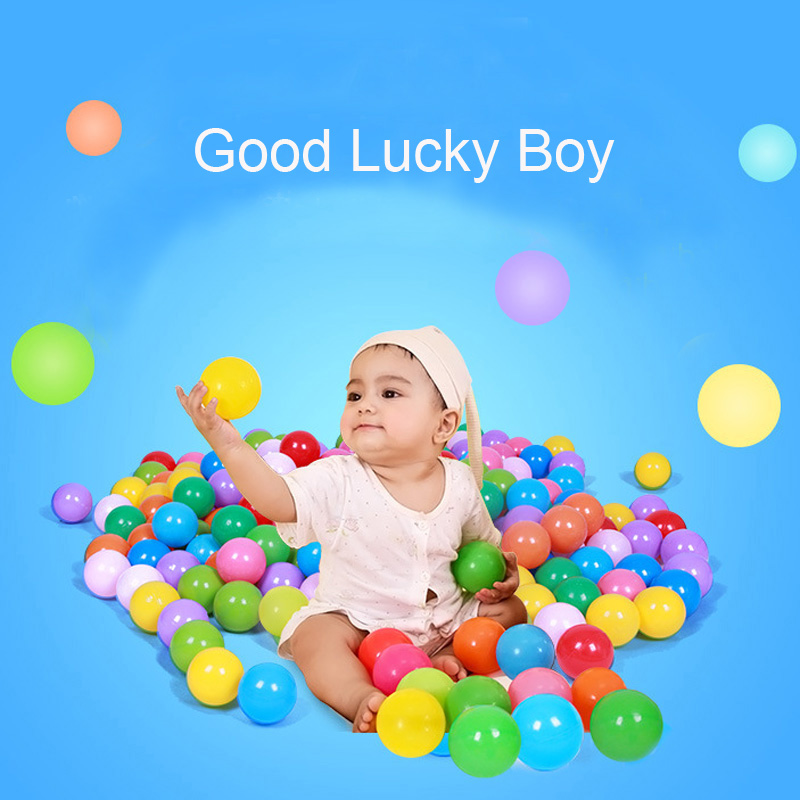 Image 5 - 50/100 Pcs Eco Friendly Colorful Soft Plastic Water Pool Ocean Wave Ball Baby Funny Toys Stress Air Ball  Outdoor Fun Sports Hot-in Toy Balls from Toys & Hobbies