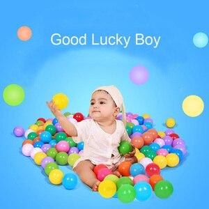 Image 5 - Bola de agua de plástico suave respetuosa con el medio ambiente para bebé, Bola de aire para el estrés, deportes al aire libre, 50/100 Uds.