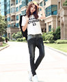 2016 Loose Fake Zippers Direct Selling New American Apparel Woman On Sale Show Thin Stitching Quality Fashion Women Jeans D47
