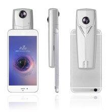 Саго Hi720 Портативный Мини Wi-Fi 360 Камера VR Действие Видео Камера двойной рыбий глаз 720 градусов панорамный видеокамера для андроидов