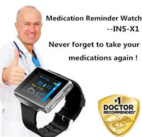 Free Shipping No 1 Doctor Recommend TFTbig Display Vibration10 Alarms Reminding Store Personal Health Info Medical