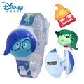 100% Genuine Disney watches Cartoon Inside Out Digita Wristwatches Kids Boys Girls Clock Brand watch Gift 89005-14