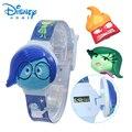 100% Genuine Disney watches Cartoon Inside Out Digita Wristwatches Kids Boys Girls Clock Brand watch Gift 89005-14