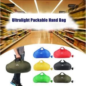 Image 5 - Сверхлегкая складная сумка для покупок, сумка для путешествий, вакуумные сумки для одежды для мужчин и женщин