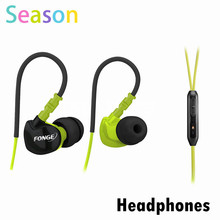 New Arrival Original FONGE Ear Hook Sport Earphone For HTC/Sumsung/iPhone MP3 4 color Available Sports headphones